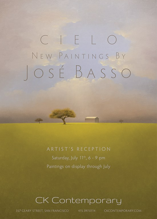 Exhibition: Cielo, New Paintings by José Basso
