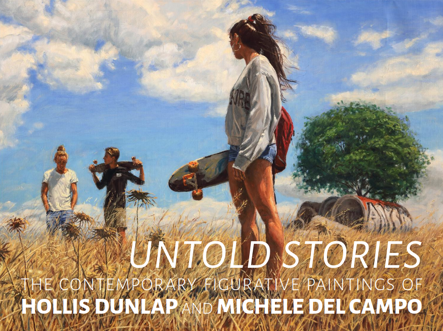 Untold Stories: The Contemporary Figurative Paintings of Hollis Dunlap and Michele Del Campo