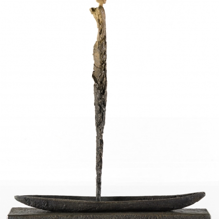 My Own Journey, 2006, Bronze, Signed and numbered on the sculpture base, Edition of 20, 20 x 17 1/2 x 3 1/2