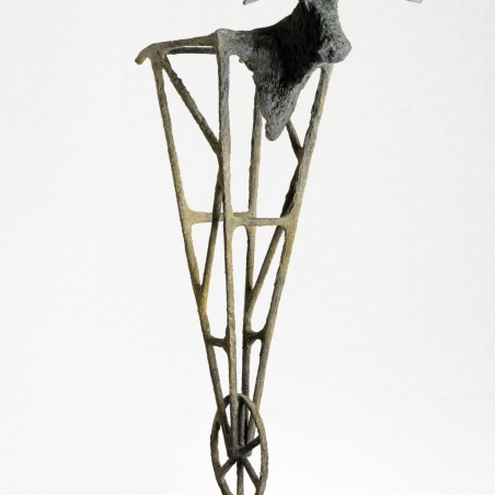 Torino, bronze, Signed with edition number in base, Edition of twelve, 23 1/2 x 17 x 7 inches,
