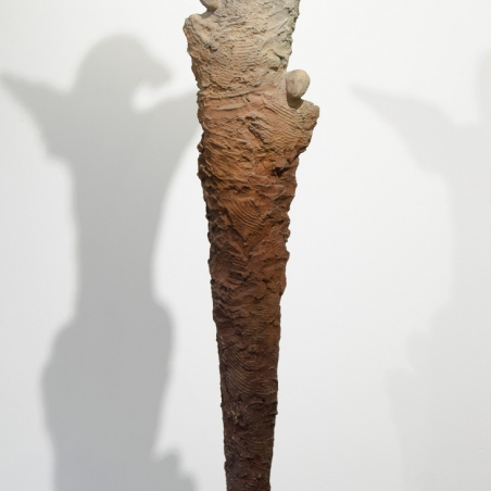 Pilar, Bronze, Signed with edition information in base, Numbered 3/12, 11 x 63 inches