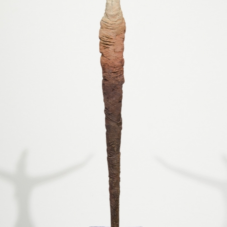 Volar, 2015, Bronze, Signed with edition information in base, Unique piece, Numbered 1/1, 22 x 9 inches