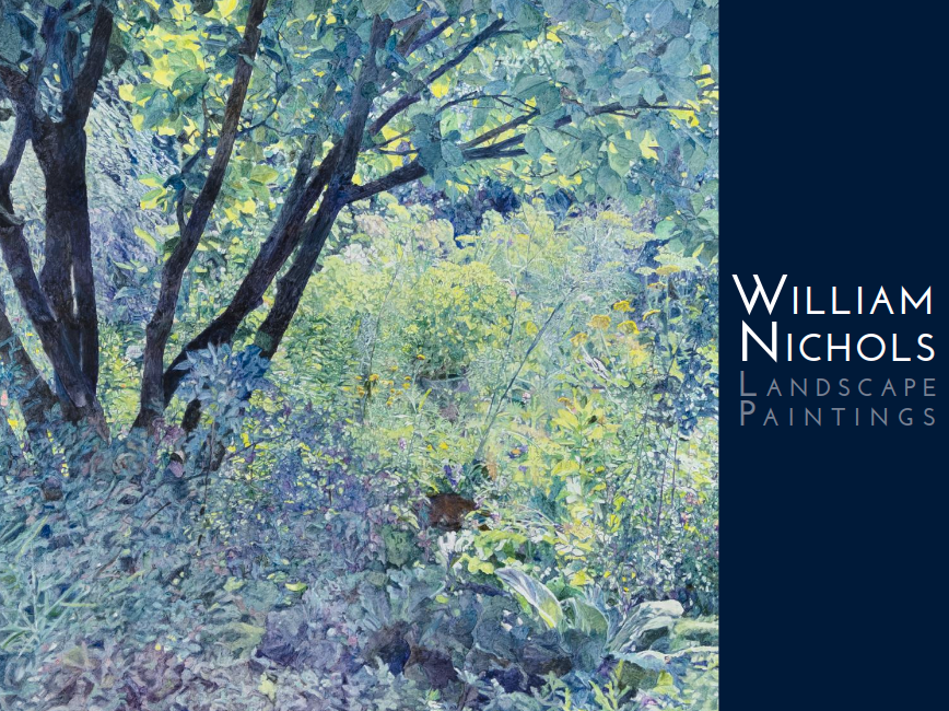 Please explore our exhibition catalog from our William Nichols 2015 solo show.